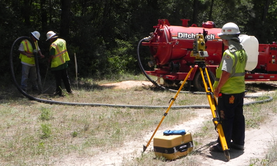 Subsurface Utility Locating : S&V SURVEYING - A LEADING